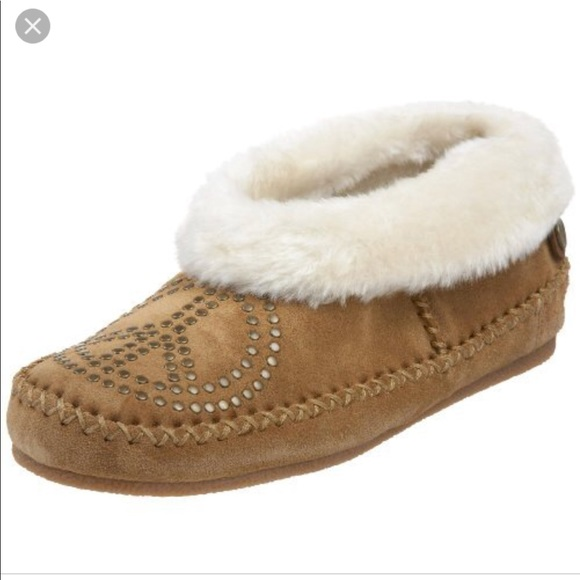 4dfc6b52dbe6 Lucky Brand Shoes - Lucky Brand Sabrina Moccasin Slippers